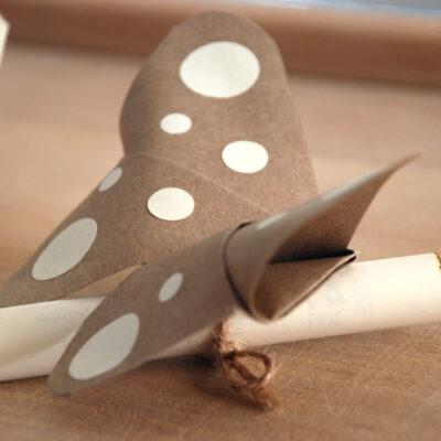 Partecipazione Tridimensionali A Forma Di Farfalla